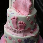 : Girl baby shower cakes be equipped baby themed cakes be equipped pink baby shower cupcakes be equipped baby shower cakes and cupcakes