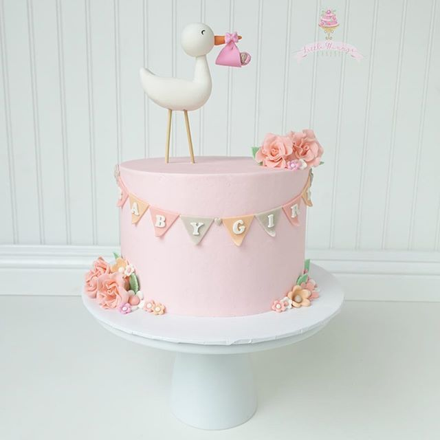 Girl baby shower cakes be equipped pink baby shower cakes be equipped unisex baby shower cakes