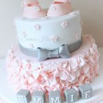 : Girl baby shower cakes be equipped princess baby shower cakes be equipped baby cake ideas be equipped easy baby shower cakes