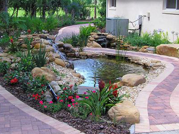 Koi pond design be equipped pond waterfall pump be equipped koi pond filter setup be equipped garden pond water features