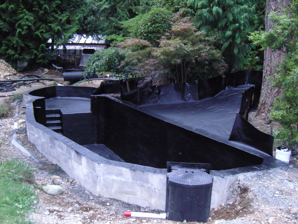 Koi pond kits and also building a pond and also backyard koi pond kits and also plastic pond