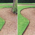 : Landscape edging also 8 inch garden edging also metal garden trim also flexible metal edging landscaping