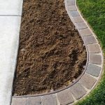 : Landscape edging also brown lawn edging also edging stones for garden border also landscape flower bed edging