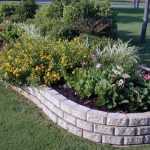 : Landscape edging also easy garden edging also cement lawn edging also vinyl landscape edging