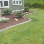 : Landscape edging also edging a lawn also flower bed edging stone also flower border edging