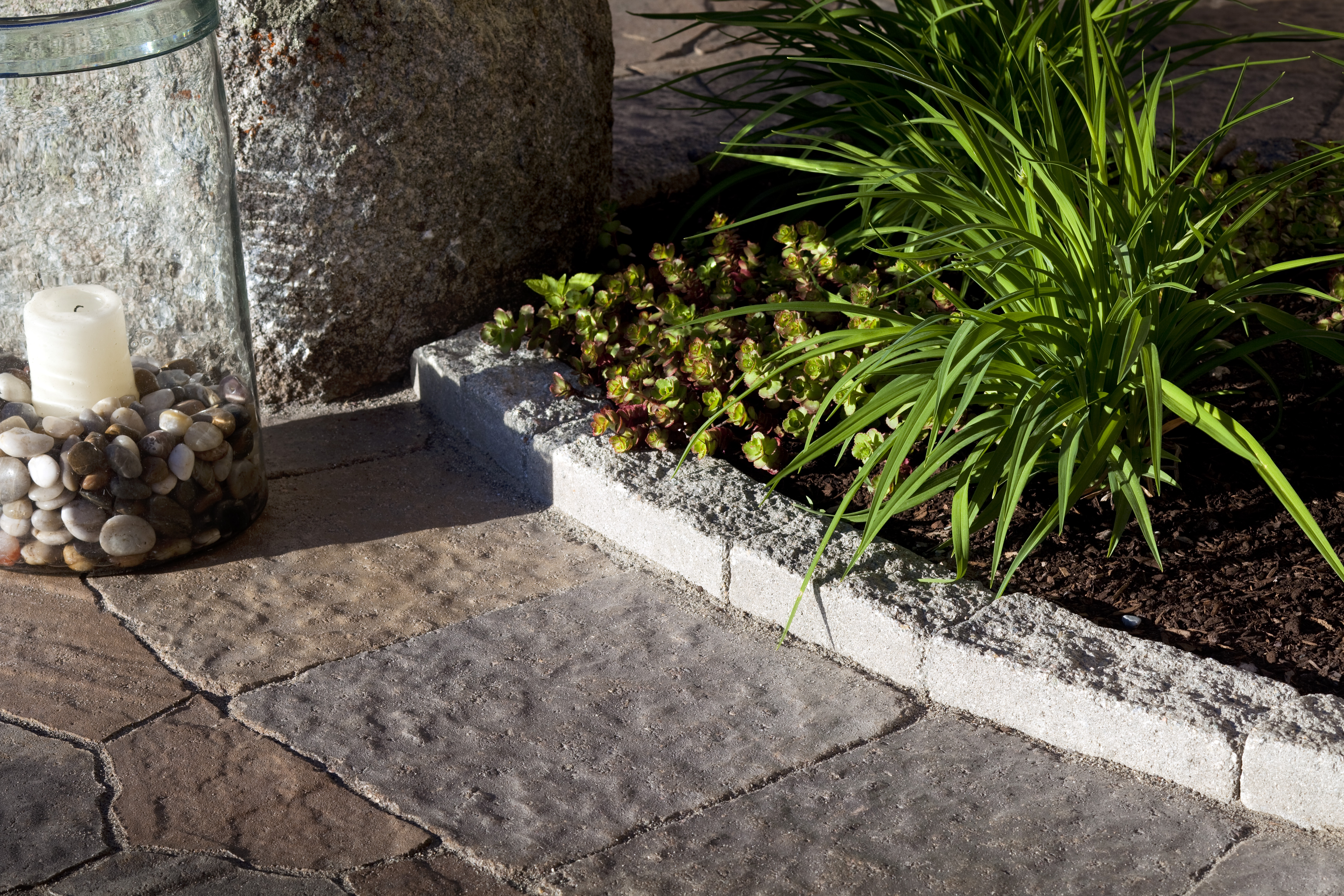 Landscape edging also edging for lawns and flower beds also decorative flower bed edging