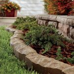 : Landscape edging also garden bed edging pavers also garden edging also front yard landscaping ideas