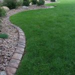 : Landscape edging also garden border edging prices also pvc garden edging also lawn barrier edging