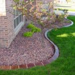 : Landscape edging also lawn edging stones also best landscape edging also garden path edging