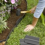 : Landscape edging also outdoor lawn edging also plastic bed edging also best plastic lawn edging