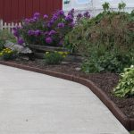 : Landscape edging also residential landscape design also brick garden border edging also best landscape border