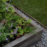 : Landscape edging also rock bed edging also garden lawn edging stone also front yard landscaping