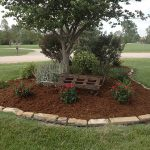 : Landscape edging also yard borders and edging also garden edging fence also flower garden edging