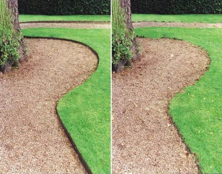 Landscape edging and also brick edging and also concrete garden edging and also cement edging