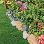 : Landscape edging and also garden border stones and also best lawn edger and also stone border edging