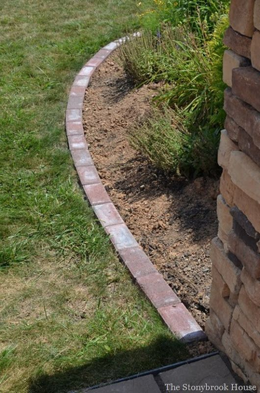 Landscape edging and also garden borders and also landscape borders and also flower bed edging