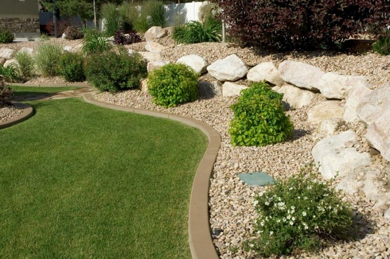 Landscape edging and also lawn and garden edging and also rock landscape edging and also garden bed borders