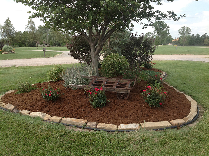 Landscape edging and also lawn edging roll and also brown garden edging and also landscape bed edger