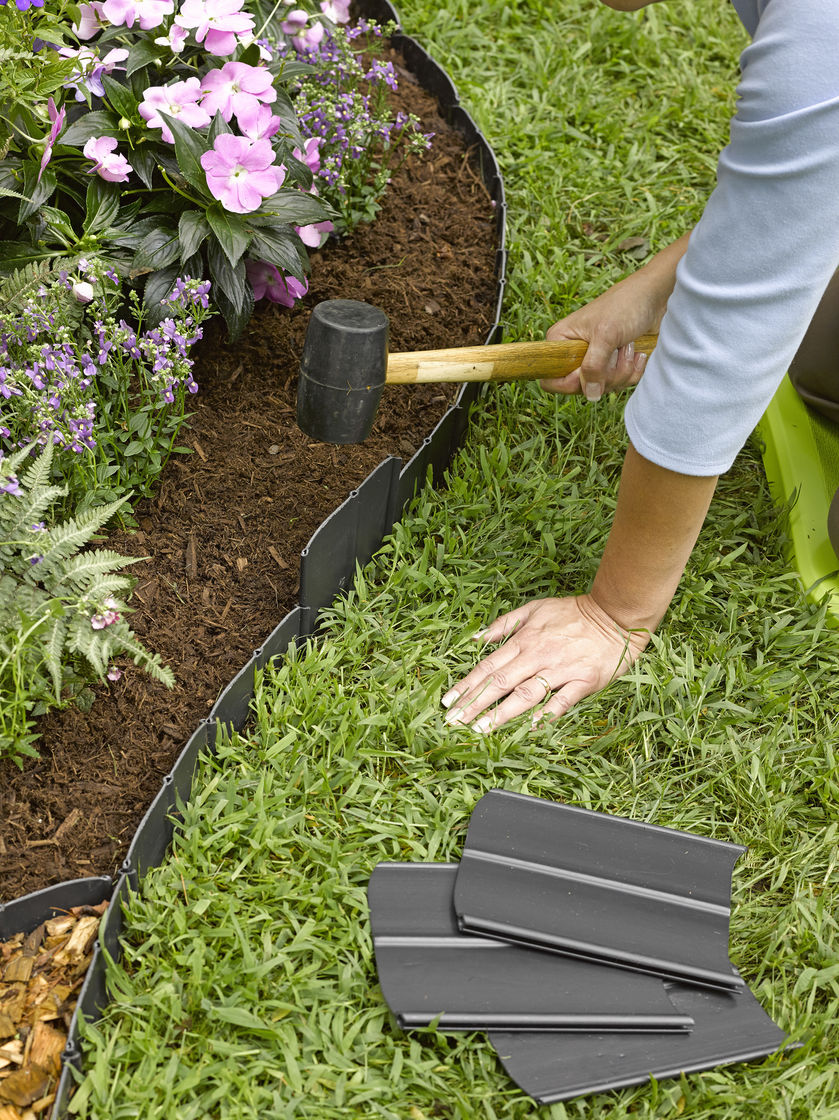 Landscape edging and also plastic garden edging and also garden bed edging and also flexible garden edging