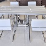: Marble dining table also dining table and chair set also marble effect dining set