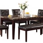 : Marble dining table also marble dining room sets also marble top dining set also marble top kitchen table