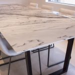 : Marble dining table also marble dining table 4 chairs also contemporary marble dining table