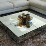 : Mirrored coffee table with clear coffee table with chest coffee table with coffee table with stools