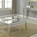 : Mirrored coffee table with drum coffee table with modern glass coffee table with small glass coffee table