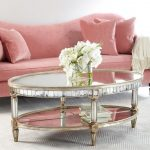 : Mirrored coffee table with glass and mirror coffee table with white gloss coffee table with round mirror table