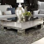 : Mirrored coffee table with mirror effect coffee table with mirror nightstand table with mirrored accent table sale