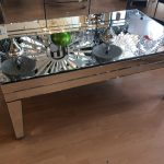 : Mirrored coffee table with mirrored coffee table set with mirror top coffee table with antique mirror coffee table
