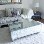 : Mirrored coffee table with mirrored glass side table with convertible coffee table with oval glass coffee table