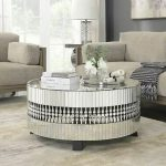 : Mirrored coffee table with nesting coffee table with coffee table decor with tree stump coffee table