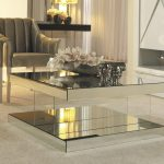 : Mirrored coffee table with tall coffee table with art deco coffee table with foldable coffee table