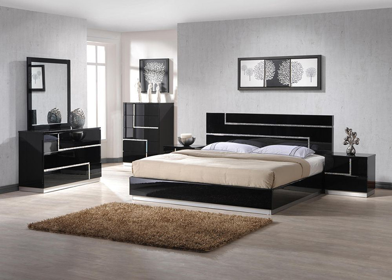 Modern bedroom furniture and plus contemporary bedroom sets and plus black bedroom sets and plus modern room furniture