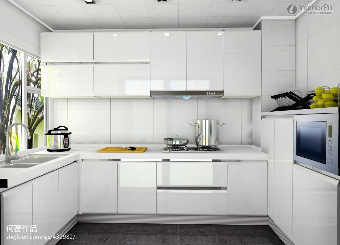 Modern Kitchen Cabinets With Euro