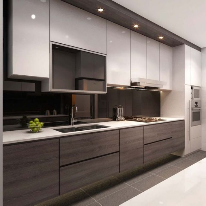 Modern kitchen cabinets with ready made cabinets with kitchen cupboards with unfinished cabinets