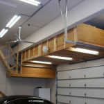 : Overhead garage storage with ceiling hanging storage racks with stanley garage storage with wall mounted overhead storage