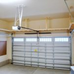 : Overhead garage storage with garage shop shelving with retractable garage ceiling storage with small garage storage cabinet