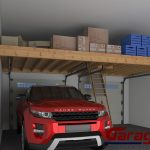 : Overhead garage storage with garage tidy with garage storage hoist systems with garage ceiling storage units