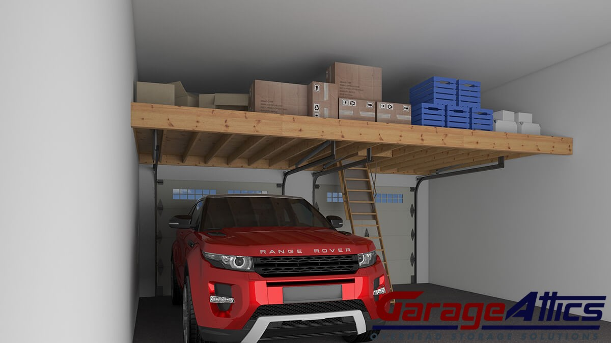 Overhead garage storage with garage tidy with garage storage hoist systems with garage ceiling storage units