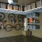 : Overhead garage storage with overhead ceiling storage with garage storage shelving systems