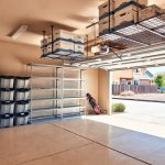 : Overhead garage storage with overhead storage shelf with saferacks overhead garage storage with suspended storage