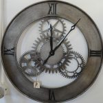 : Oversized wall clocks and also contemporary wall clocks and also modern clock and also rustic wall clock