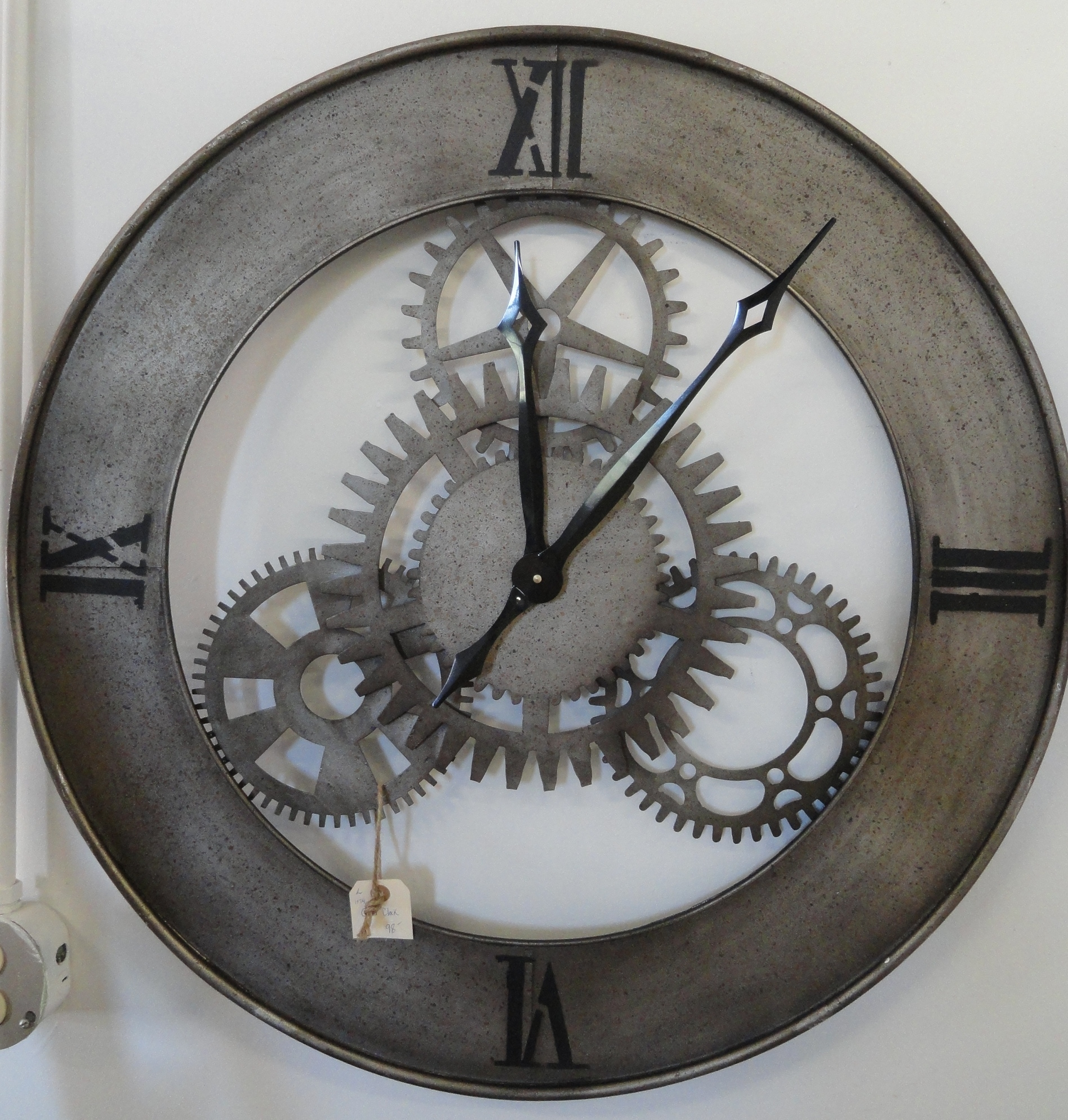 Oversized wall clocks and also contemporary wall clocks and also modern clock and also rustic wall clock