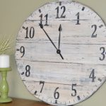 : Oversized wall clocks and also extra large wall clocks contemporary and also large vintage wall clocks