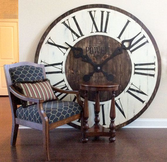 Oversized wall clocks and also large circle clock and also modern wall clocks