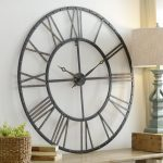 : Oversized wall clocks and also large metal indoor wall clock and also large old wall clocks and also big colorful wall clocks