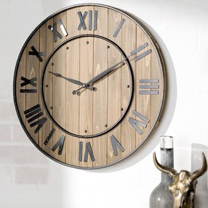 Oversized wall clocks and also large rustic clock and also 50 inch wall clock