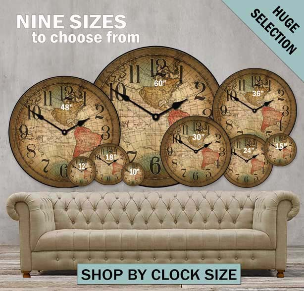 Oversized wall clocks and also large wooden clock and also large outdoor clock and also antique wall clocks